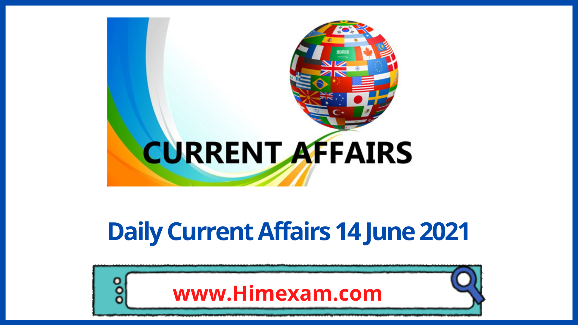 Daily Current Affairs 14 June 2021 In Hindi