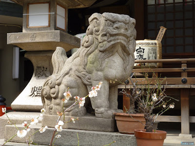 福島天満宮狛犬