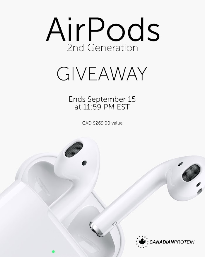 Enter To Win a Airpods 2nd Generation ( Worth Over : +$205)