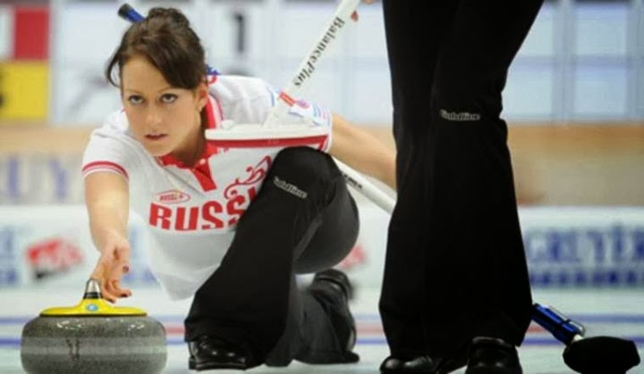 Hottest Russian women curling team Photos: Alexandra Saitova | Ekaterina Galkina | Anna Sidorova