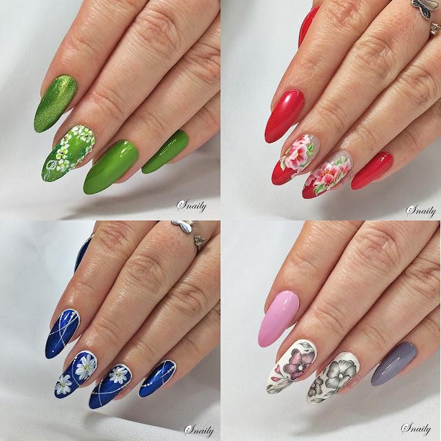 Kwiatowe zdobienia paznokci
