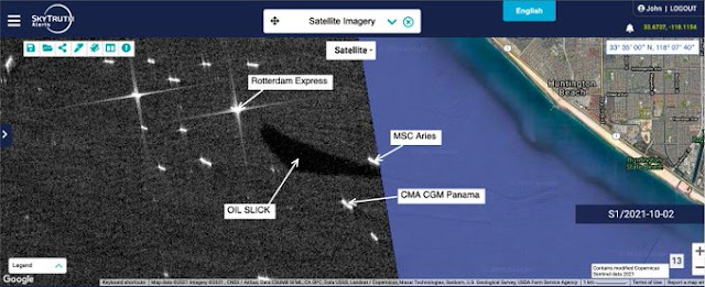 oil spill skytruth satellite