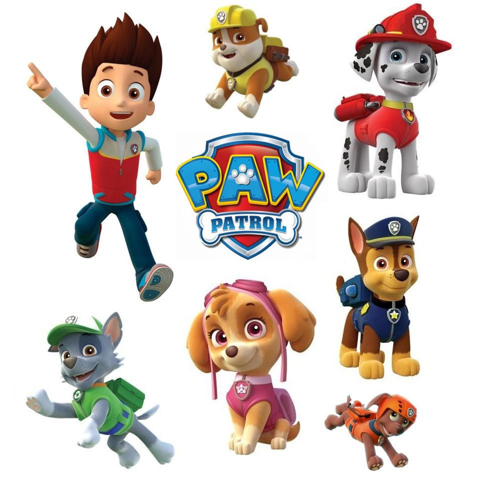photo regarding Paw Patrol Printable named Paw Patrol Free of charge Printable Package. - Oh My Fiesta! within english
