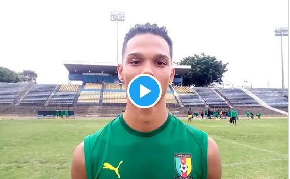 Mondial U17 au Brésil : Étienne Eto'o parle et se dit ravi de faire partie de l'équipe du Cameroun