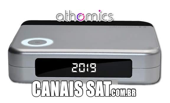 Athomics T3 Nova Atualização V1.2.5 - 25/05/2020