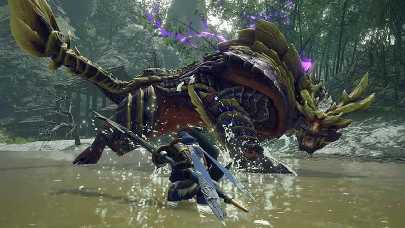 Monster Hunter Rise - Review Scr3