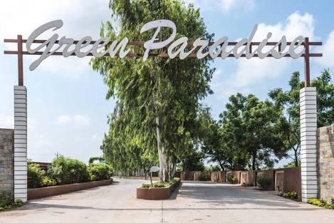 सूरत में ग्रीन ग्रुप द्वारा ग्रीन पैराडाइज प्रोजेक्ट। Green Paradise Project By Green Group in Surat.
