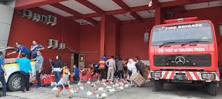 IPC Cabang Tanjung Priok  Kirim 800 Paket Ke Lokasi Korban Banjir