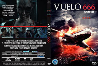 Flight 666 - Vuelo 666 - Cover DVD