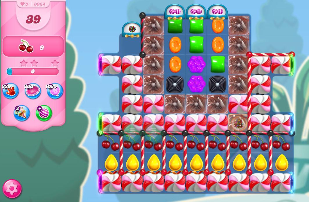 Candy Crush Saga level 8924