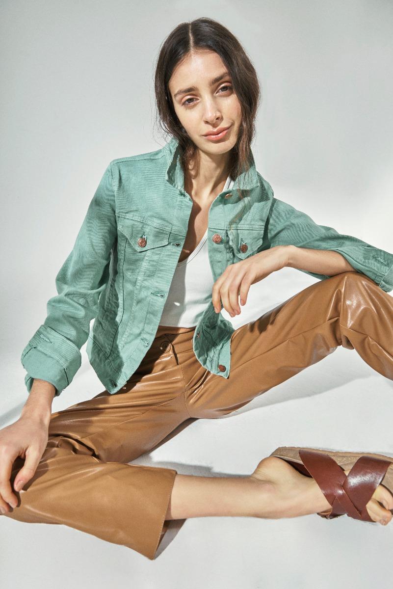 camperas de jeans moda mujer 2021