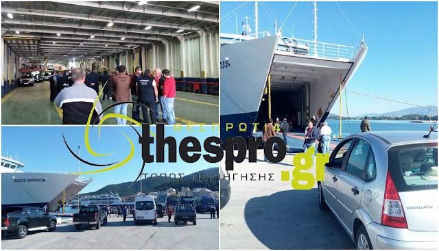 Ένταση στο λιμάνι της Ηγουμενίτσας, λόγω της απεργίας της ΠΝΟ