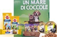 Logo ''Un mare di coccole '' : vinci 600 teli mare con Sheba, Whiskas,Cesar,Pedigree e Catisfaction