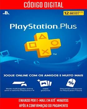 PlayStation Plus Brasileira 12 Meses de Assinatura