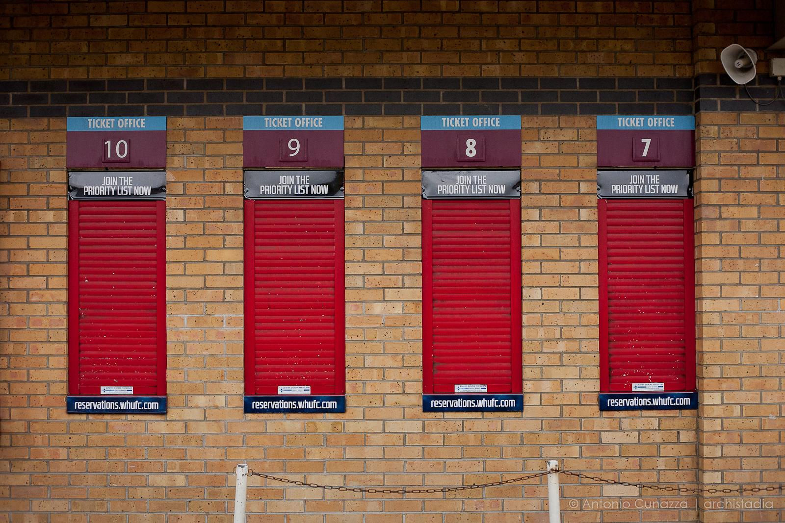 Boleyn Ground Upton Park Londra foto © Antonio Cunazza 2015
