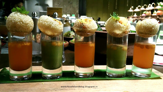 Fuchka Shots @ Flavours of Bengal Food Festival @ Nook | Aloft CBP | Bangalore
