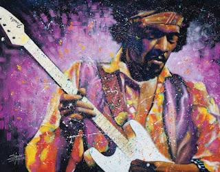Jimi Hendrix Arthouse Poster