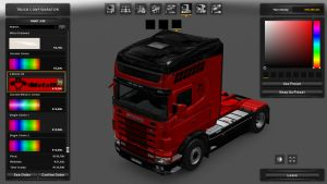 Griffin Metallic Paint for Scania 4 Series