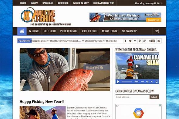 Addictive Fishing Website