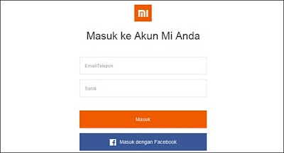 Cara Menghapus Data Mi Cloud Xiaomi