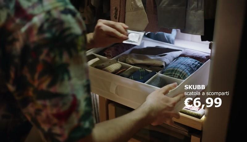 Pubblicit ikea sorprenditi ogni giorno musica dello spot for Ikea a modo tuo