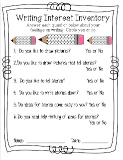 https://www.teacherspayteachers.com/Product/Writing-Interest-Inventory-1901764