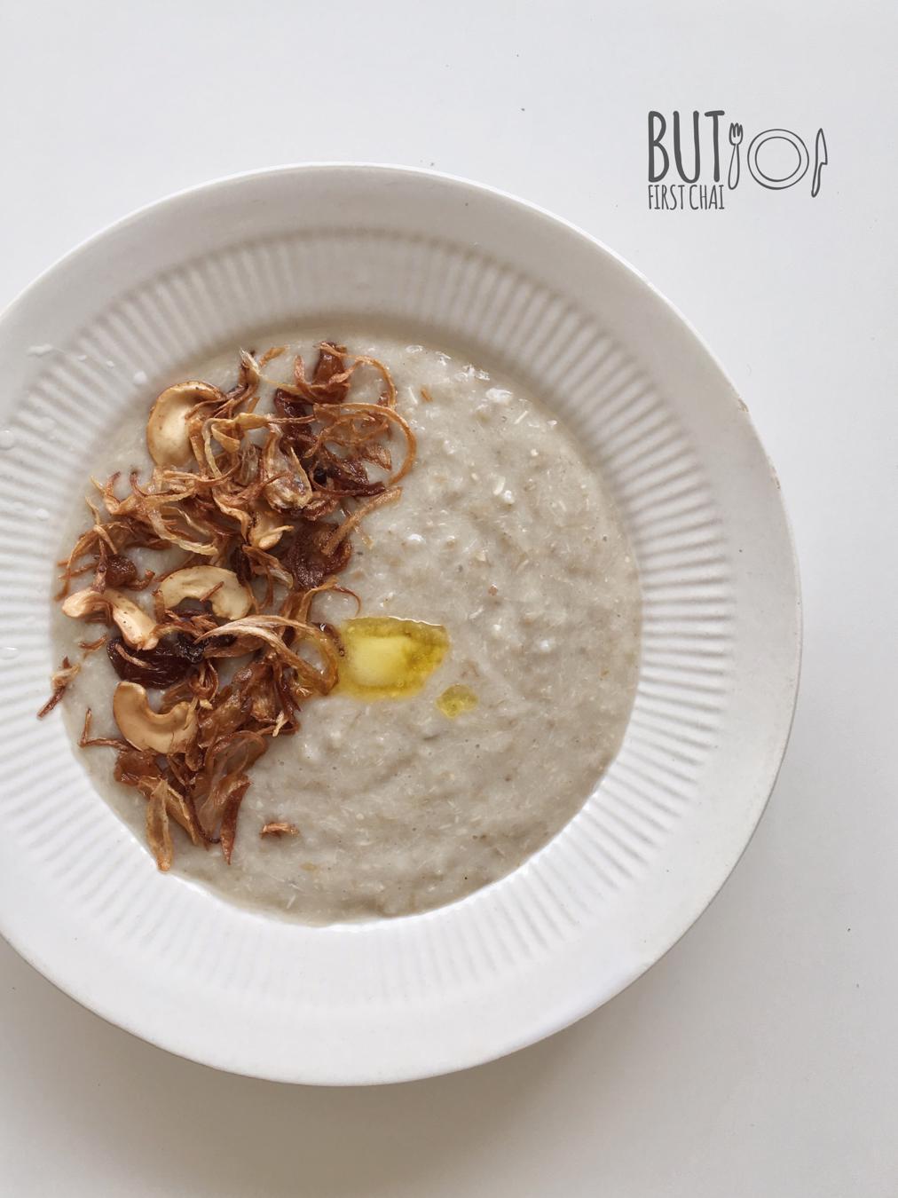 Aleesa | Wheat berries with Chicken in Coconut Milk