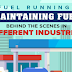 Maintaining Fuel Running : Behind the Scenes in Different Industries #infographic