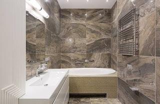 contoh kamar mandi keramik motif batu alam