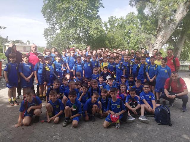 100 μικροί αθλητές της Α.Ε Ελευθερούπολης κατέκλυσαν το Ναύπλιο!!!!!