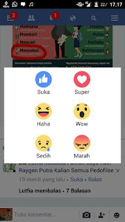 Bot Reaction Facebook