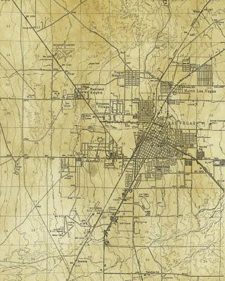 Las Vegas 1951 mappa