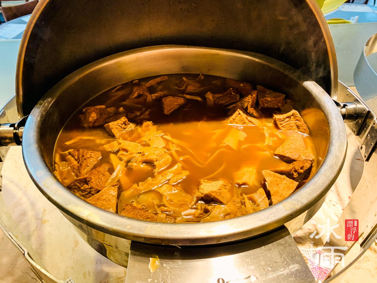 陽明山天籟溫泉會館|早餐菜色|滷菜