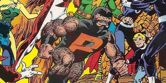 Super Herói com Deficiência - PUCK