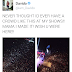 2324Xclusive Update: Davido [O.B.O ] Share The Photo Of The crowd at The shows He Performed