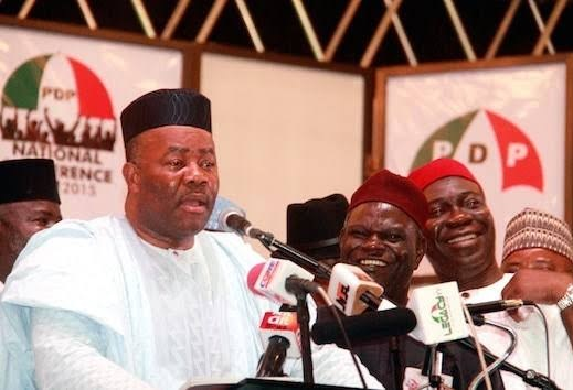 PDP Reveals Why Akpabio Withdrew From Senatorial Rerun