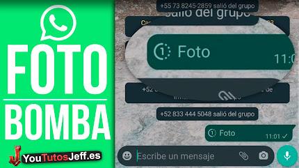 Fotos Bomba Whatsapp   Enviar Fotos que se AUTODESTRUYEN