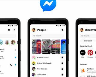 Facebook Messenger's New Design
