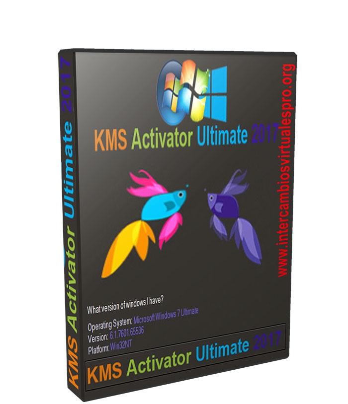 Windows KMS Activator Ultimate 2017 v3.4 poster box cover