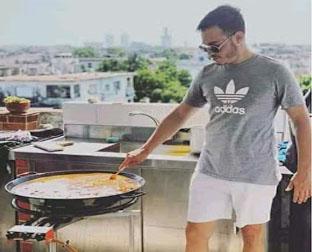 Sandro Castro cocinará gratis para los Centros de niños sin amparo filial