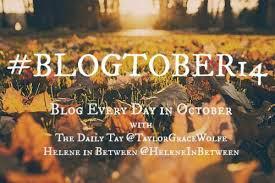 blogtober, october 2014