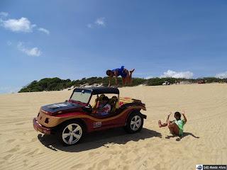 Passeio de buggy em Natal, Rio Grande do Norte