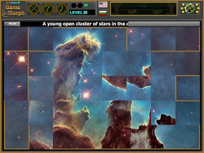 Eagle Nebula Puzzle