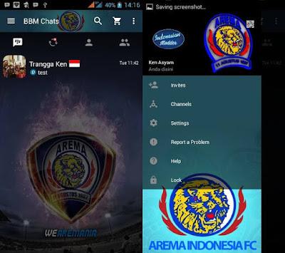Download BBM MOD Club Sepak Bola Lokal Indonesia V2.12.11 Terbaru 2016