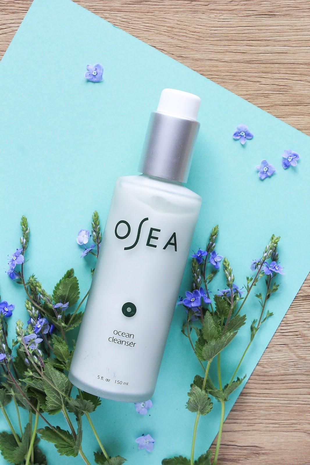 OSEA Ocean Cleanser Beauty Heroes Beauty Discovery May 2018. Vegan, gluten-free.