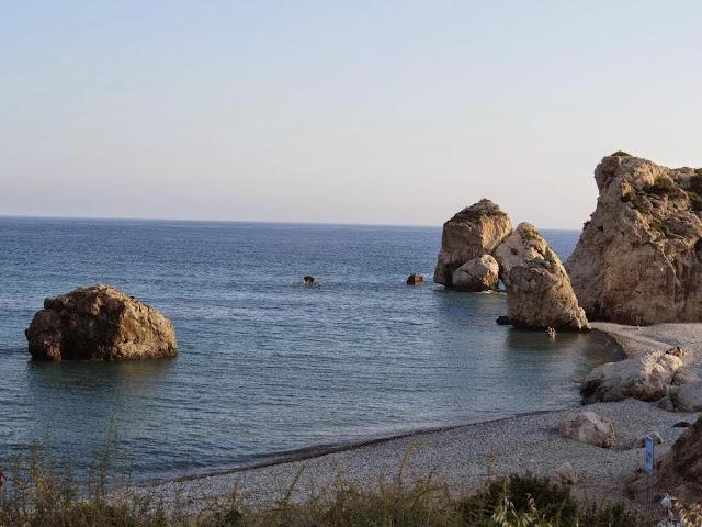 1 week Cyprus Road Trip itinerary: Aphrodite's Beach