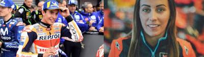 Marquez Comeback Di Bulan Mei 2021 Dan Akan Disambut Oleh Wanita Pirang Ini ?