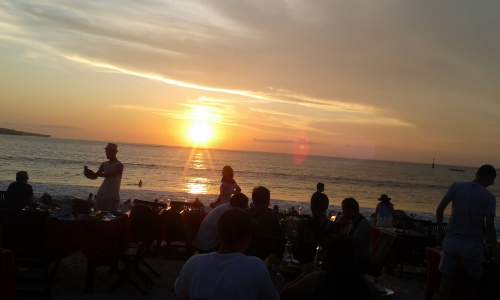 Romantic Dinner at Jimbaran Beach