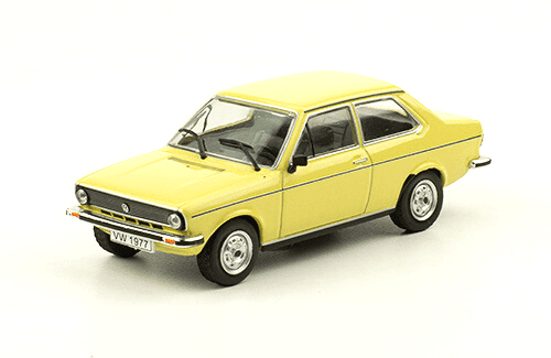 Volkswagen Derby LS 1977 deagostini, Volkswagen Derby LS 1977 1:43, volkswagen caddy 1982, volkswagen offizielle modell sammlung, vw offizielle modell sammlung