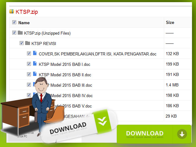 Download Contoh KTSP SD Hasil Revisi 2016/2017